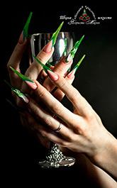 Форма «Spike» - ногтевой дизайн
