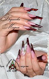Ногтевой дизайн от Марии Борисовой - Форма «Туфелька»